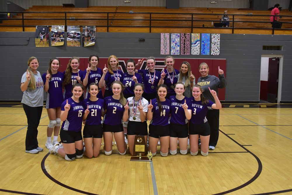 5A Area 14 Volleyball Area Champions