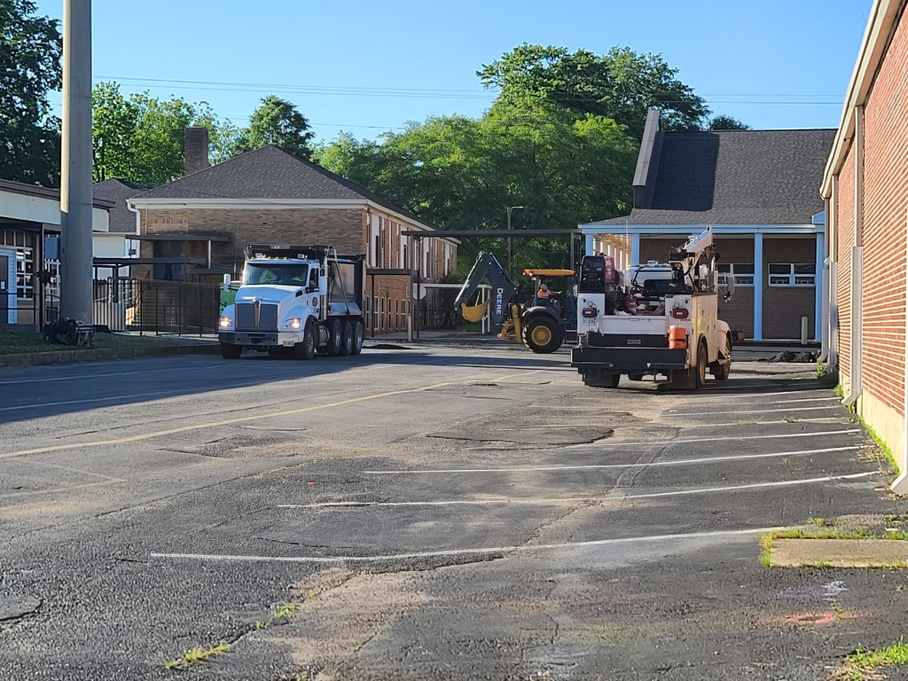 Hanceville school paving